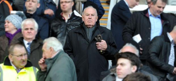 Tranmere Rovers' chairman Peter Johnson