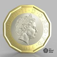Wirral Globe: The new one pound coin announced by the Government will be the most secure coin in circulation in the world (HM Treasury/PA)