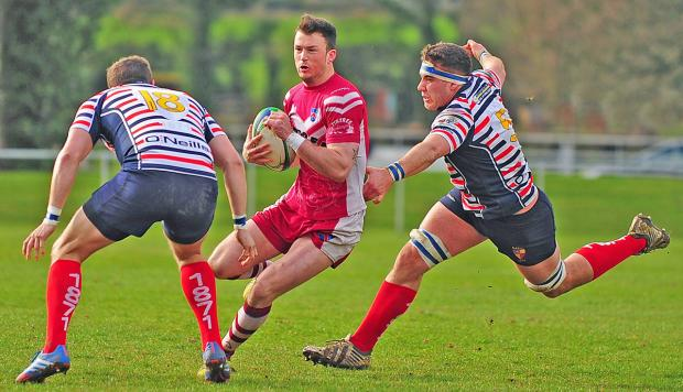 Wirral in action against Birkenhead Park. Picture: Mike Gibbens