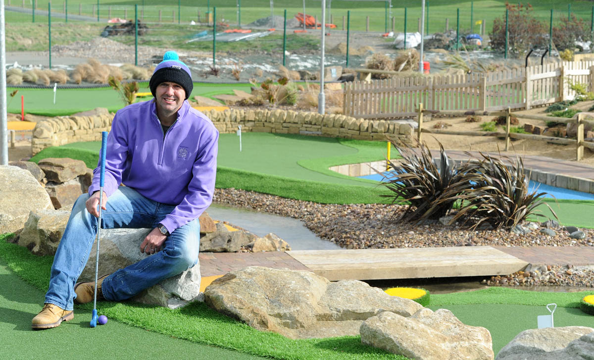 New Brighton's miniature golf course set to expand following tidal surge clean up