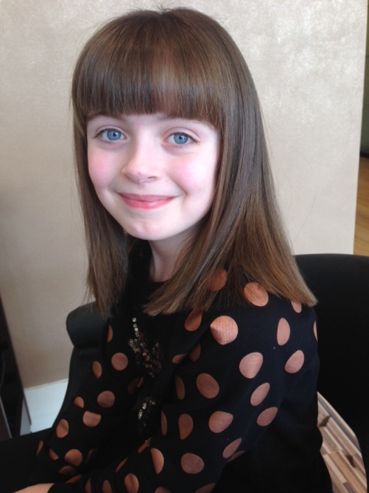 Wirral schoolgirl sacrifices her long locks for charity