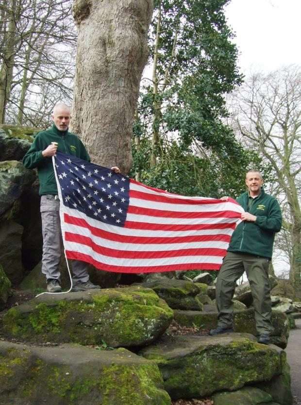 Wirral Globe: Paul Sinclair (left) and Paul Davies will help launch Forest Schools during their working trip to Central Park, New York.