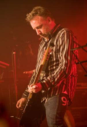 Peter Hook in action at Farm Feast launch