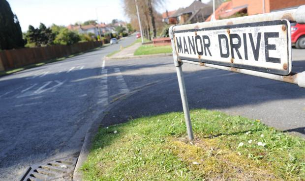 Wirral Globe: The man was attacked in Manor Drive. Picture: Paul Heaps