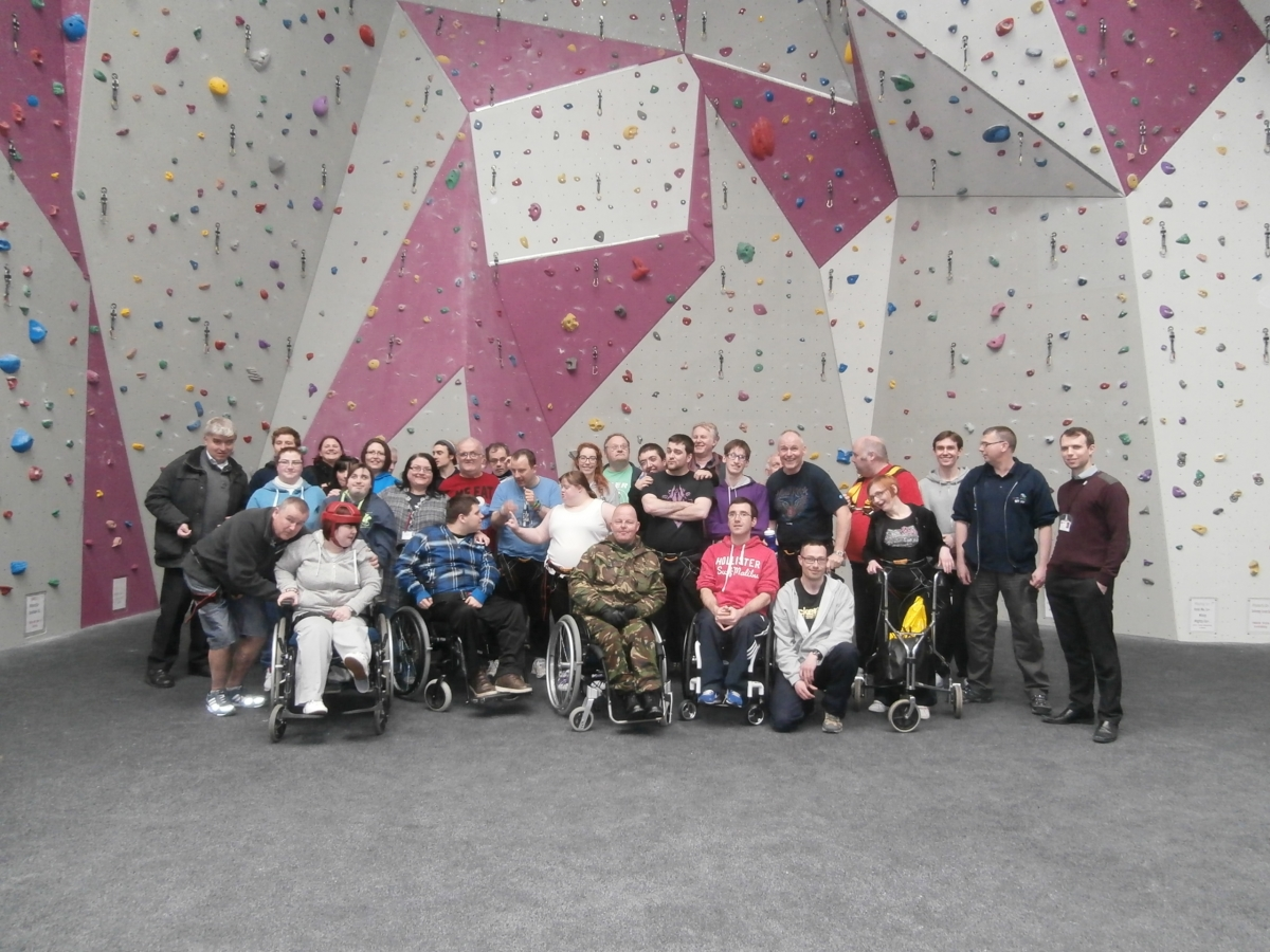 Wirral Mencap hosts charity abseil for disabled