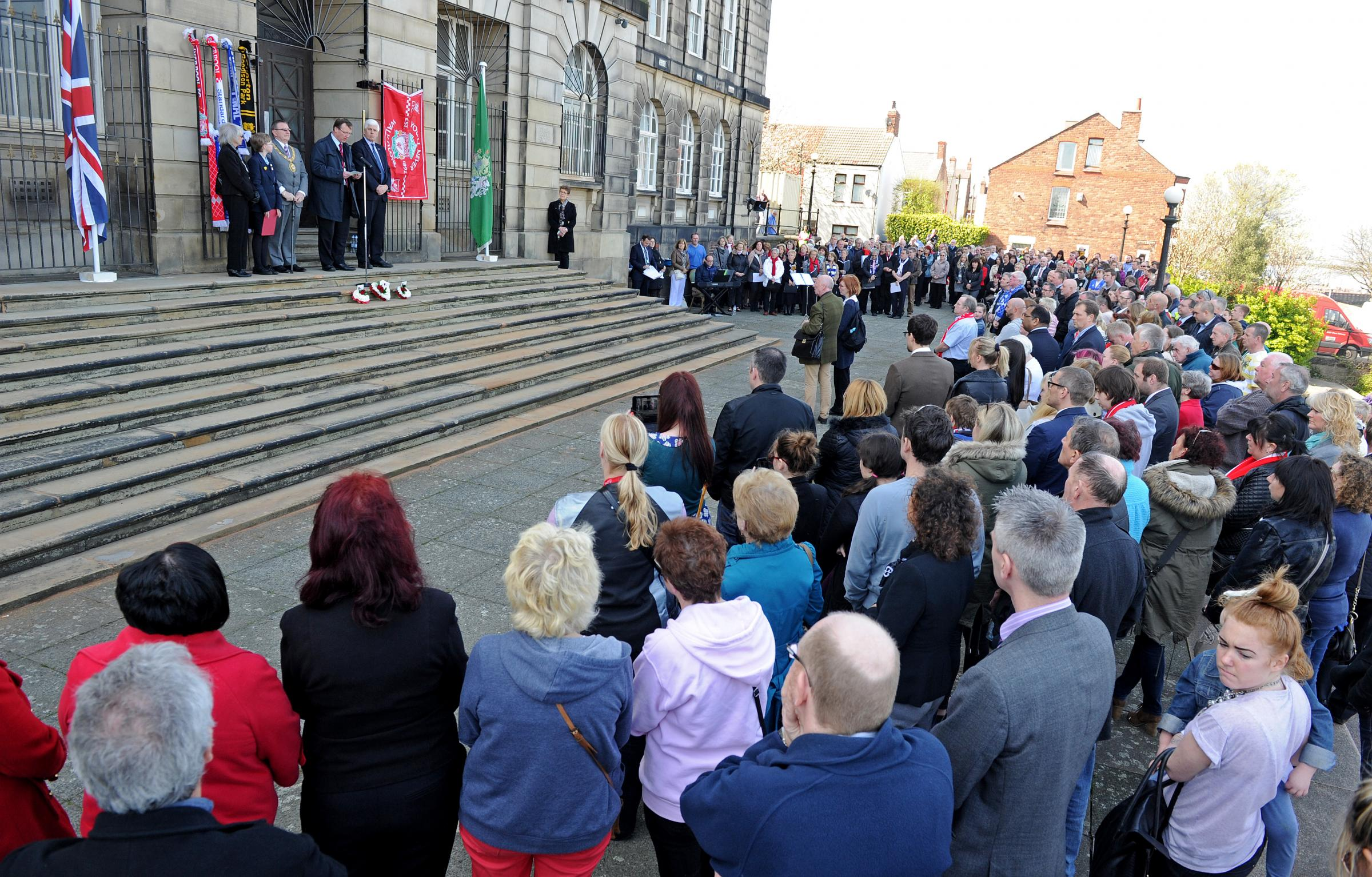 VIDEO: Wirral unites with Liverpool in sadness and hope on Hillsborough 25th anniversary