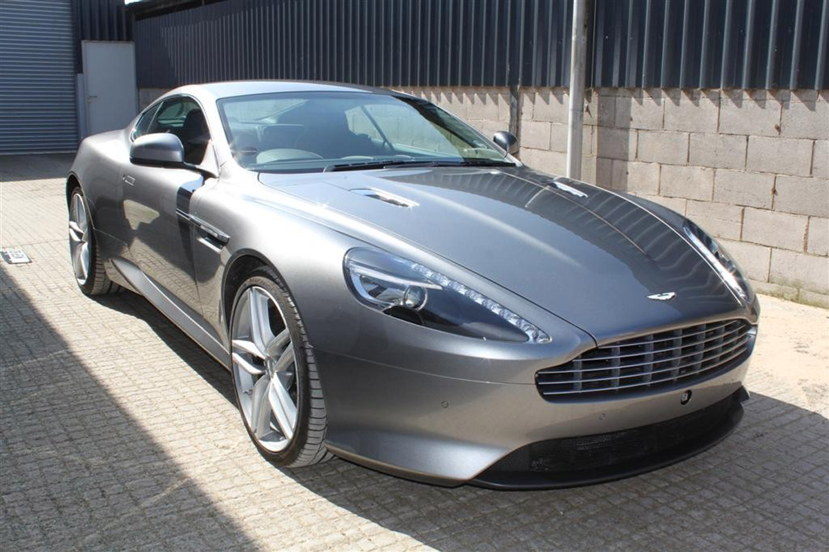 The Aston Martin will be on ebay this afternoon