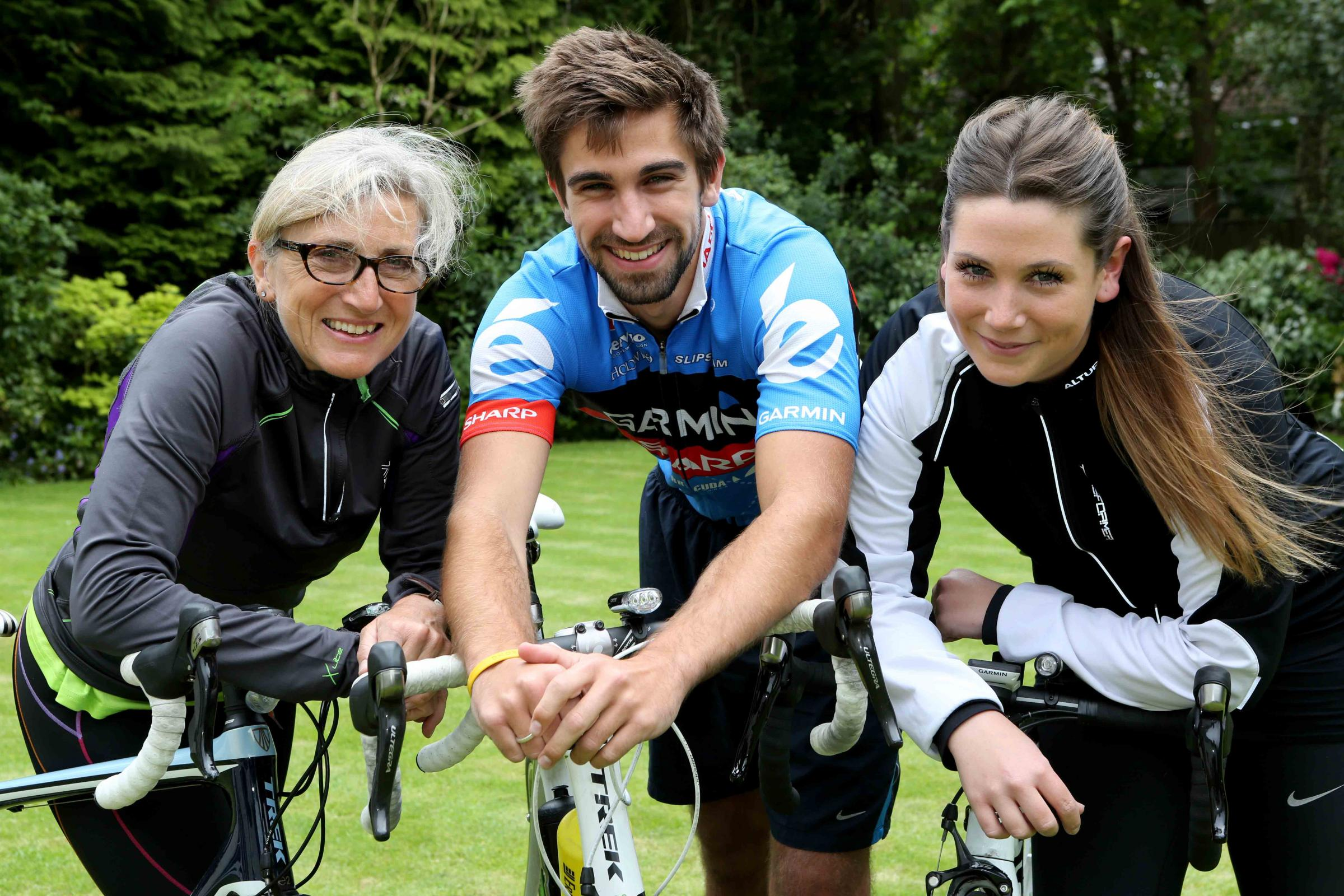 Wirral family take on world's toughest sporting challenge for Claire House