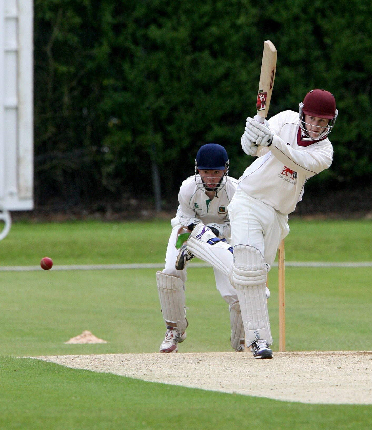 Jimmy Fennah in action for Oxton CC against Toft. Picture: Stuart Bogg