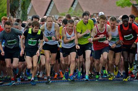 Runners at the start of this year's Port Sunlight 10k