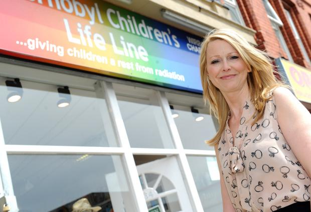 Wirral Globe: Sue Riley, from Chernobyl Children's Life Line.