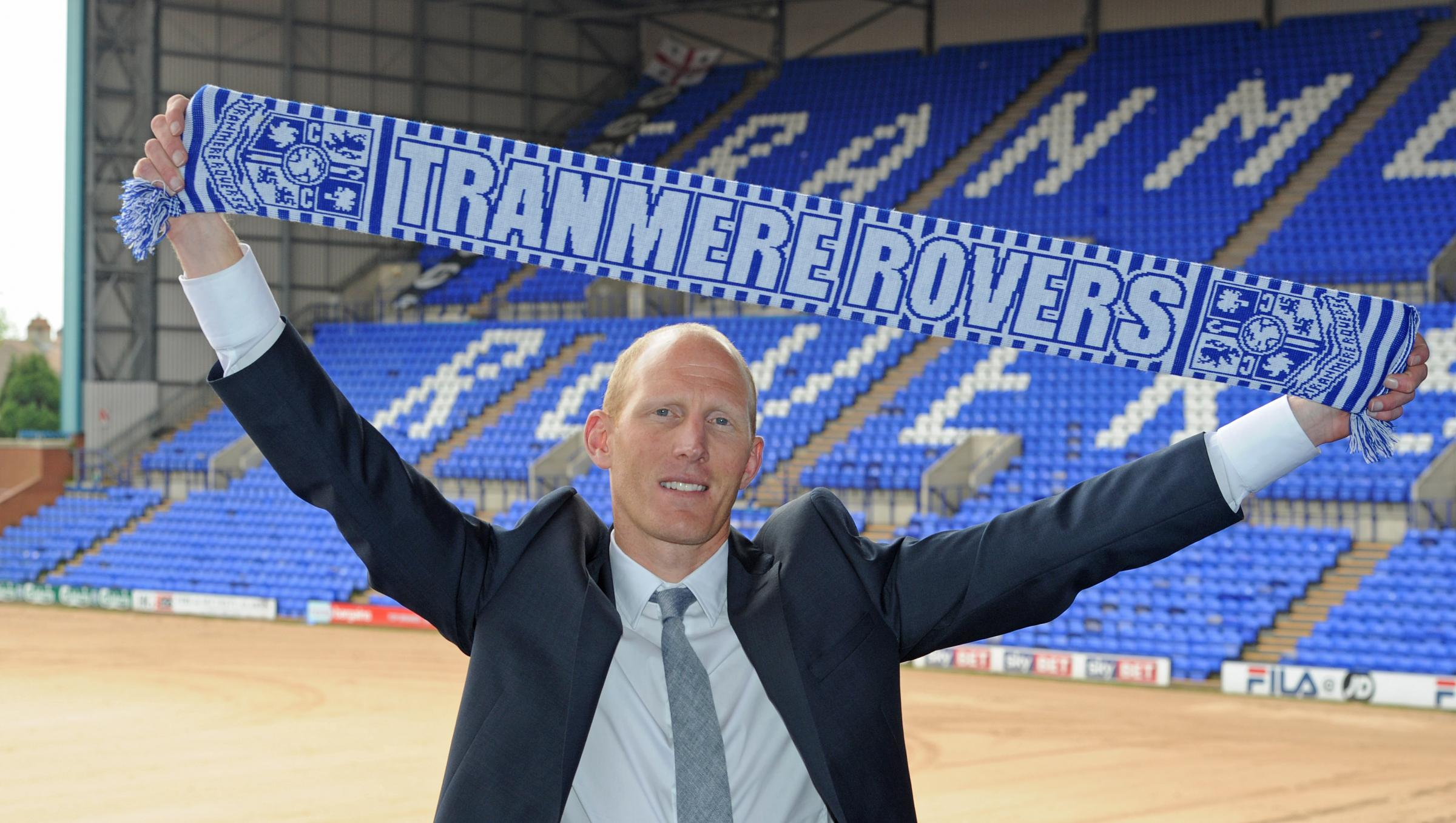 Tranmere Rovers manager Rob Edwards. Picture: Paul Heaps