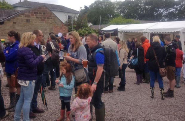 Wirral Globe: Crowds during Farm Feast at the weekend