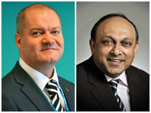 Wirral Globe: Dr Phil Jennings and Dr Abhi Mantgani have stepped aside while the review continues.