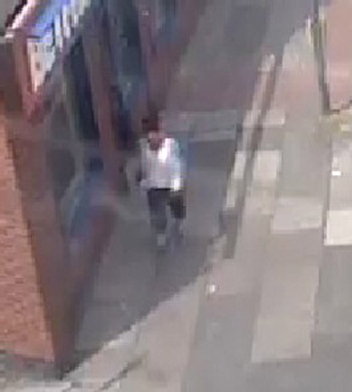 CCTV image of woman police want to talk to in connection with the incident