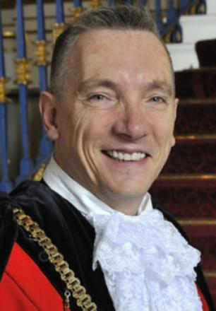 The Lord Mayor of Liverpool, Councillor Gary Millar