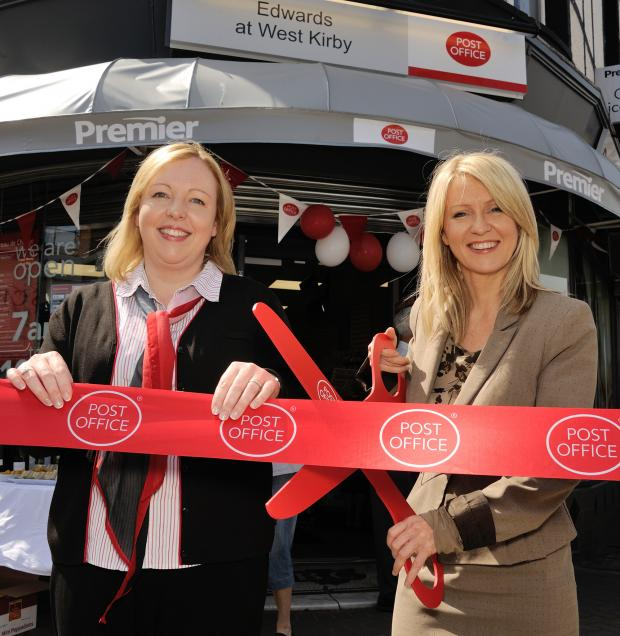Wirral Globe: Wirral community noticeboard: MP opens refurbished post office