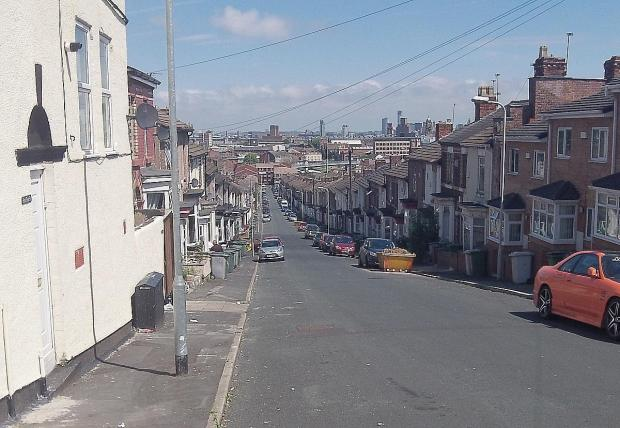The incident took place in Rodney Street, Birkenhead