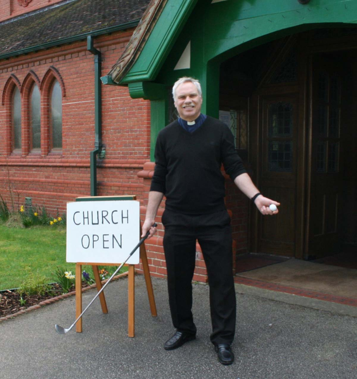 Rev Paul Rossiter believes the games of golf and lilfe have much in common