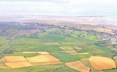 Land at Hoylake which could be used to turn the town into a five-star resort.