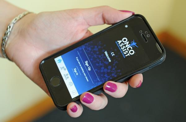 Cancer centre's mobile phone app aims to dial up faster