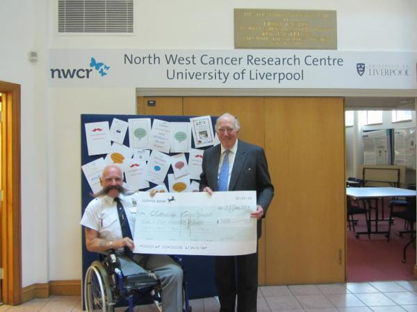 Swasie Turner, MBE with NWCR chairman, Michael Potts
