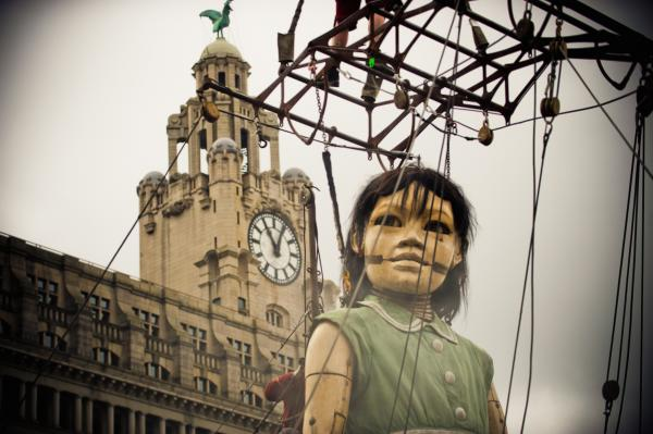 Giants on way back to Liverpool for First World War centenary