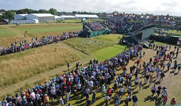 More than 202,000 people attended the Open.