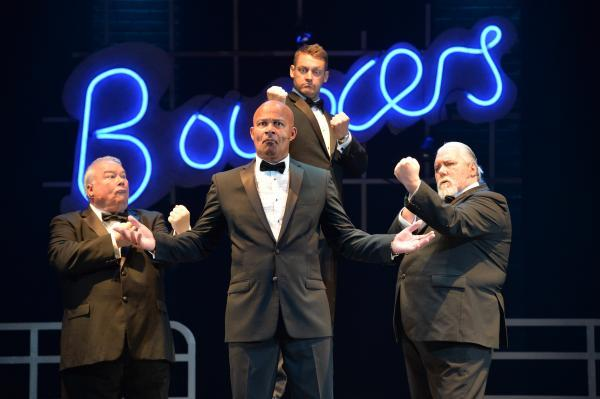 The cast of Bouncers. Picture: Dave Evans