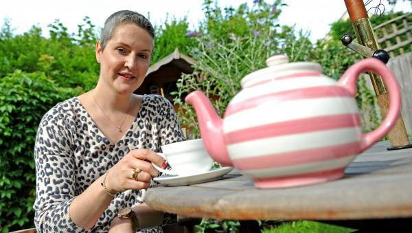 Jo Peers is holding an afternoon of strawberry tea to raise money for Breast Cancer Care.
