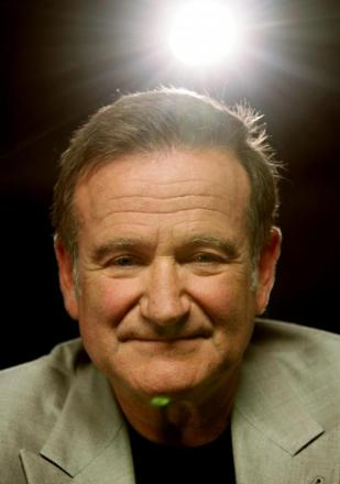 Robin Williams. Picture courtesy of Press Association.
