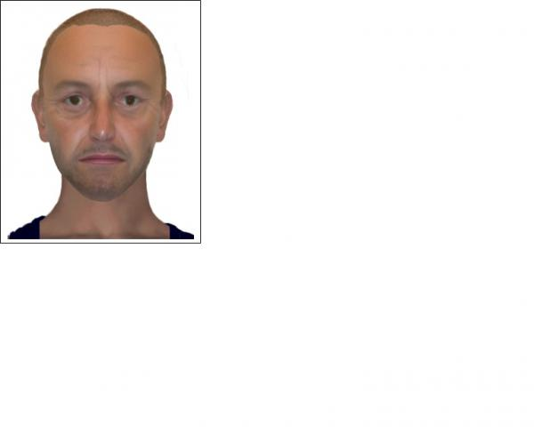 E-fit of man wanted in connection with t
