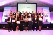 FLASHBACK: Last year's Wirral Business Award winners.