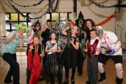 Young patients from Wirral Limb Centre have Hallowe'en fun