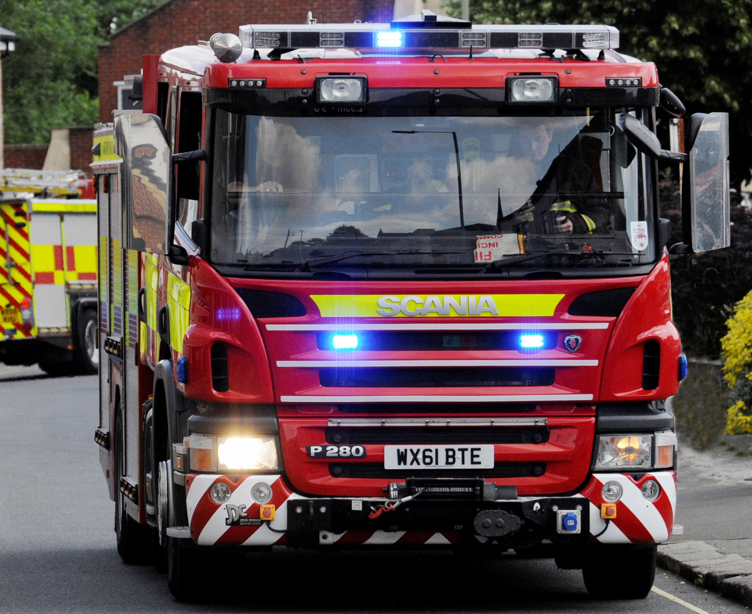 Controversial fire station plan for Green Belt at Saughall Massie returns
