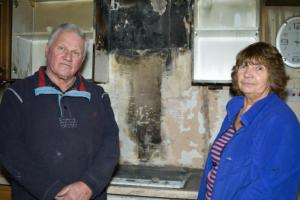 Chip pan fire ruins Neston home for Christmas