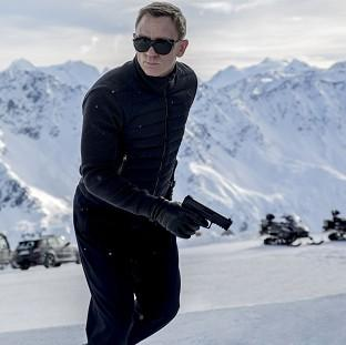 Wirral Globe: A scene from the latest James Bond film Spectre starring Daniel Craig