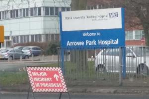 UPDATED: Major incident declared at Arrowe Park Hospital after power failure