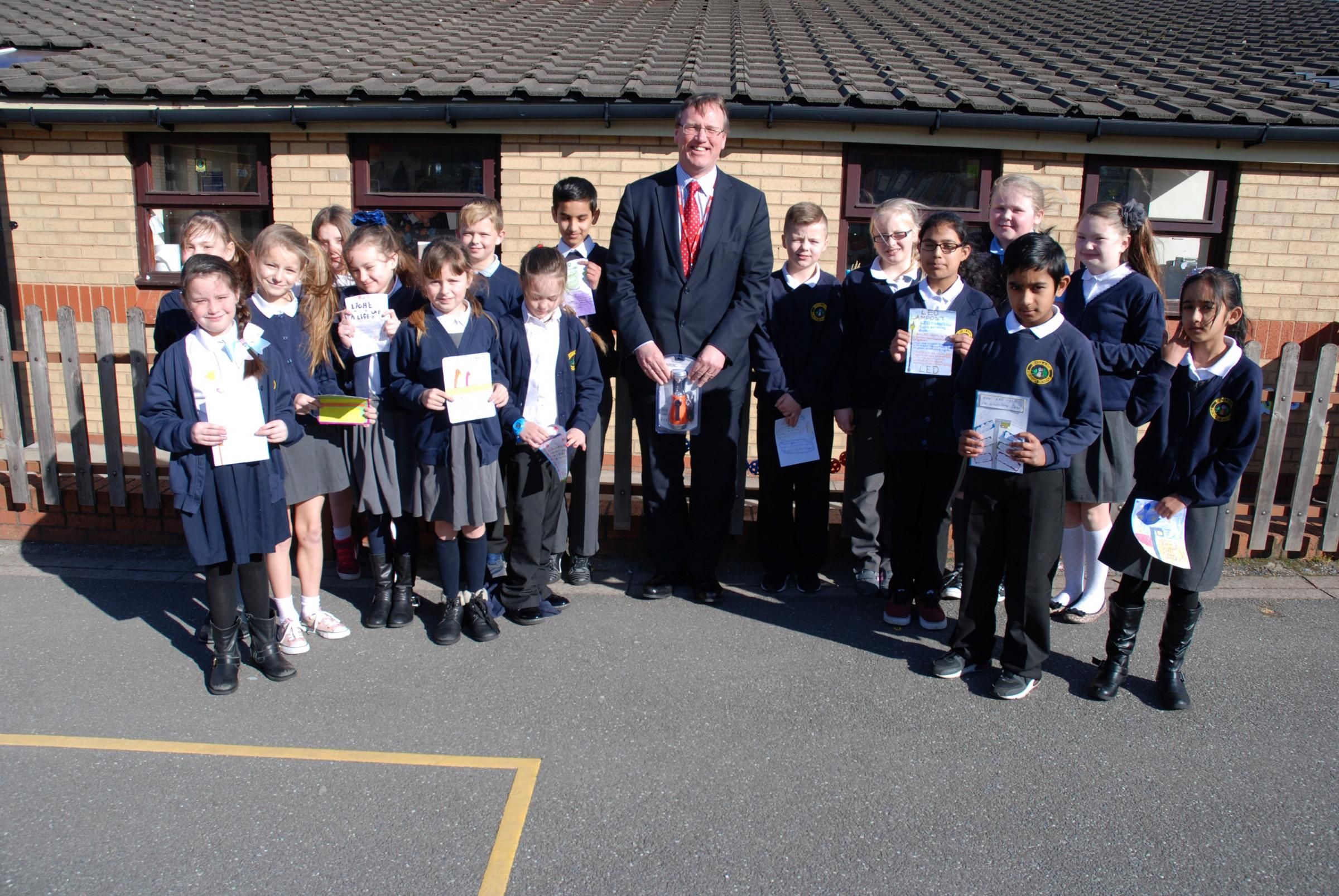 Wirral pupils have designs on new street lights   Wirral Globe