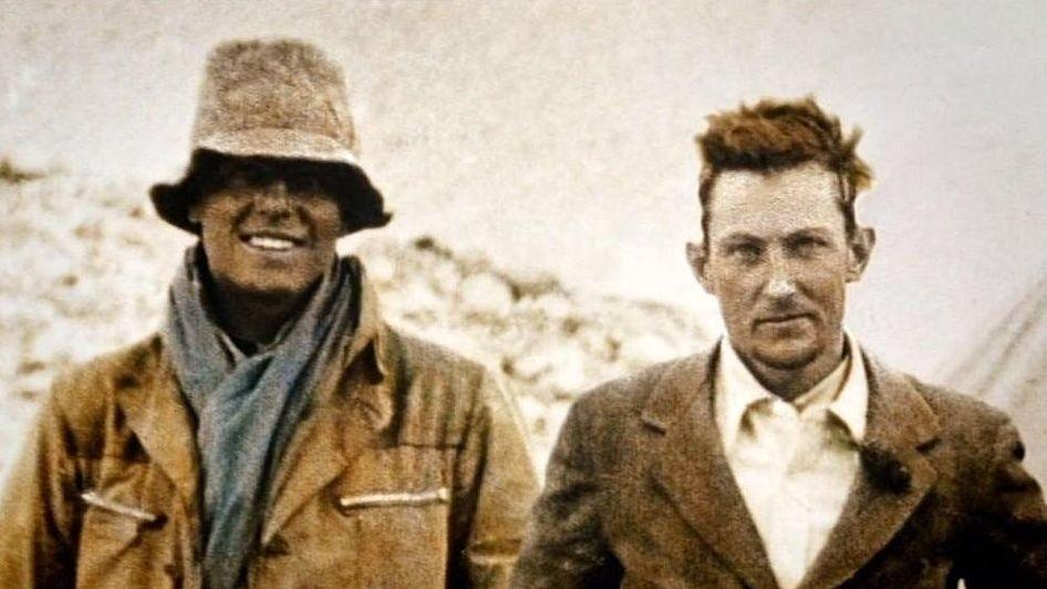 the race to the summit george leigh mallory