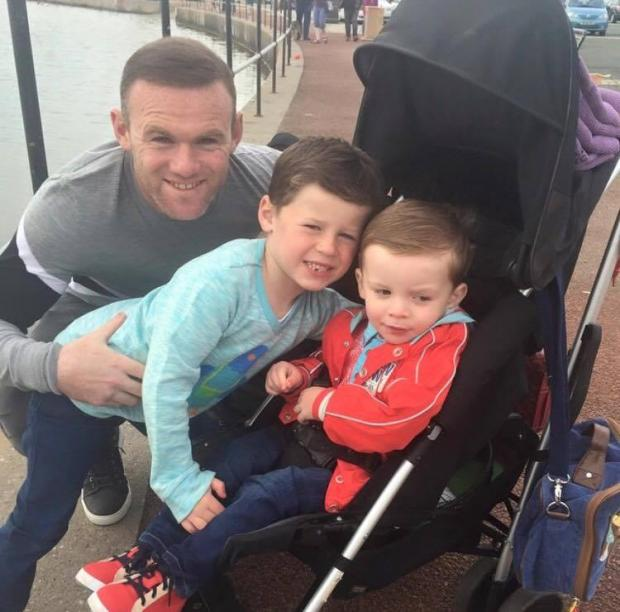 Wayne Rooney Parents Wayne Rooney enjoys family day out in New Brighton From Wirral Globe