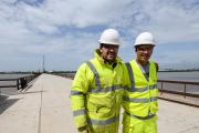Work completed on first bridge over the Mersey for 54 years