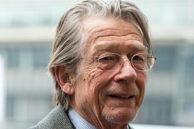 Wirral Globe: Sir John Hurt in cancer battle