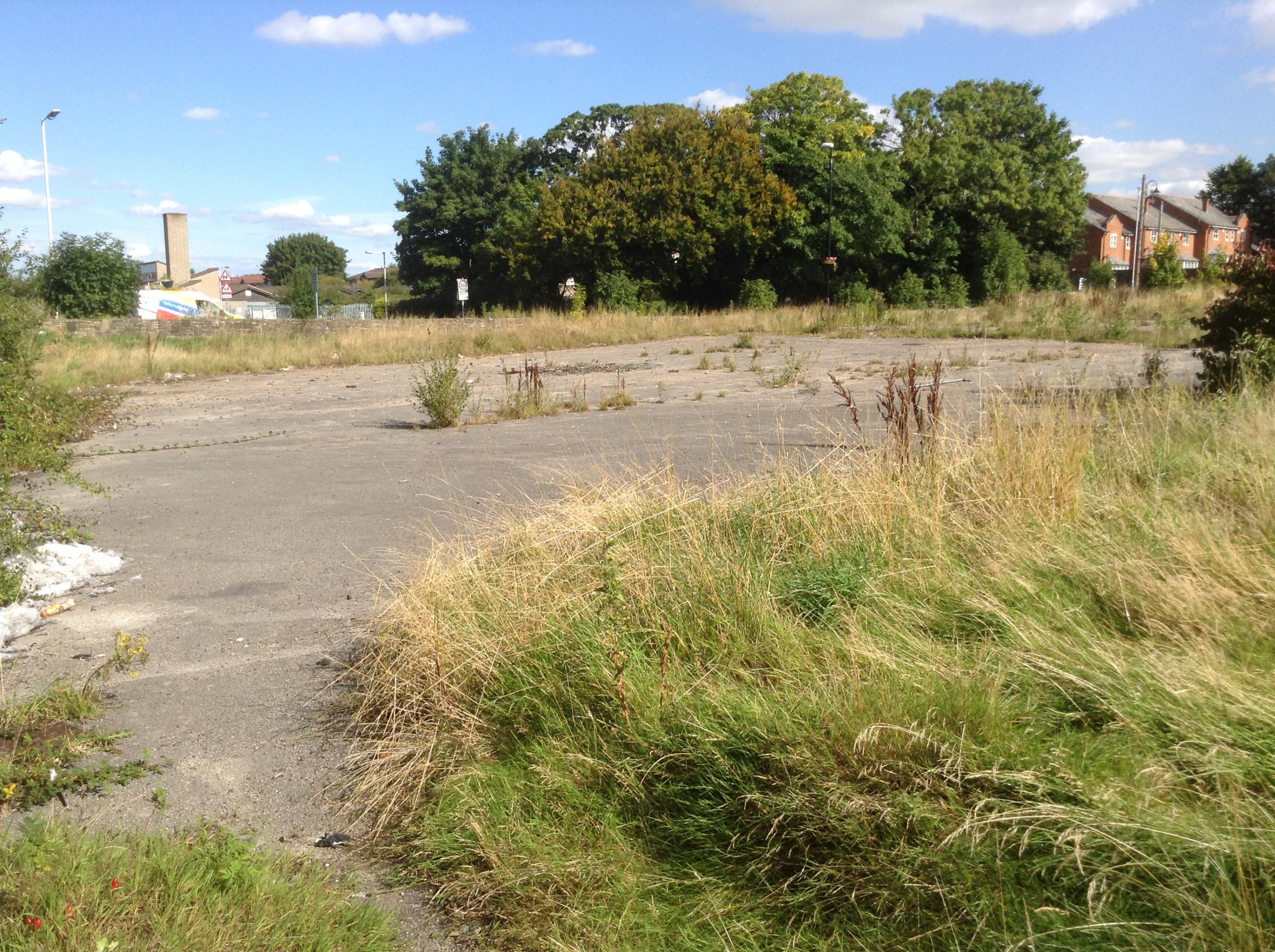 The derelict site of The Corsair Pub earmarked for redevelopment
