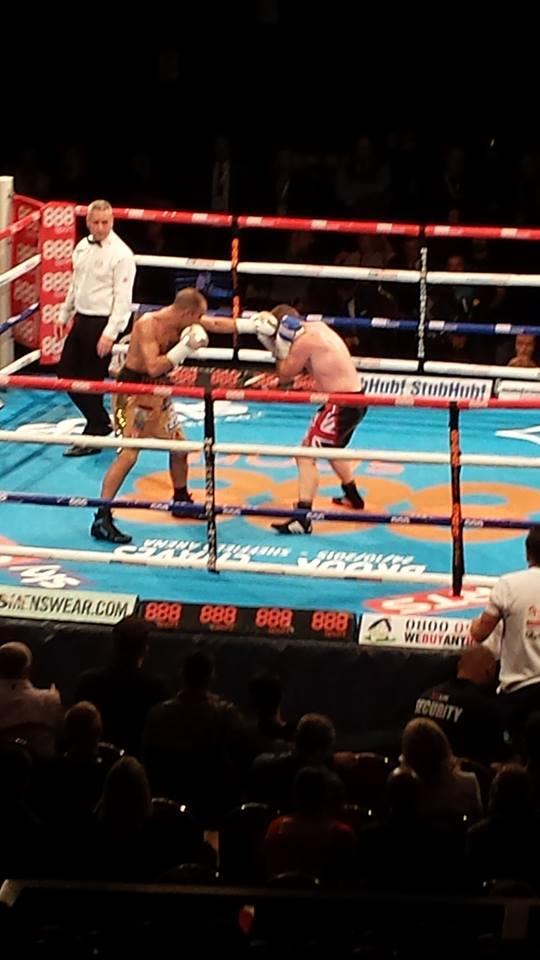 Birkenhead boxer Sean 'Masher' Dodd beats ex-British champion to