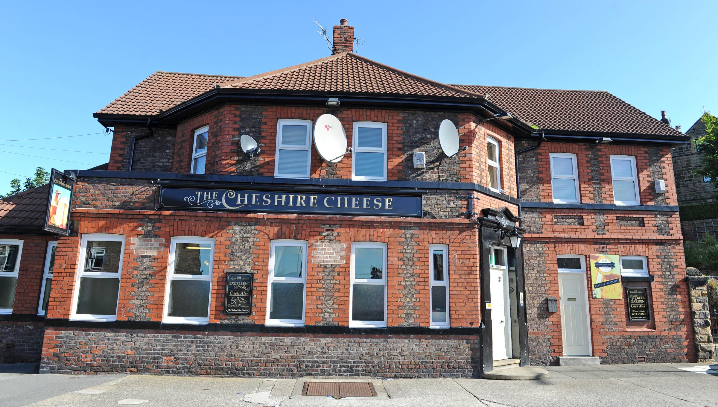 The Cheshire Cheese pub in Wallasey Village was broken in to over the weekend.