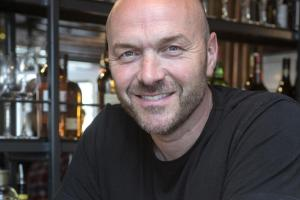 Simon Rimmer at the Viking pub's launch last Thursday night