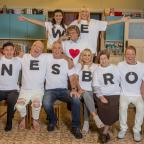 Wirral Globe: Mrs Brown's Boys copies Tom Hiddleston T-shirt move to mark first live show
