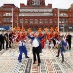 Wirral Globe: Stars of the Blackpool Tower Circus celebrate the 25th anniversary showPicture: Jason Lock