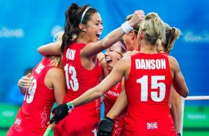Wirral Globe: Wirral hockey star Sam Quek became an Olympic gold medallist after the British team beat the Netherlands in a tense final in Rio. Picture: Koen Suyk. Full story here.